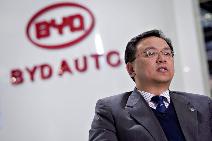 China's NEV Sales May Top 2 Million Next Year, BYD Founder Says