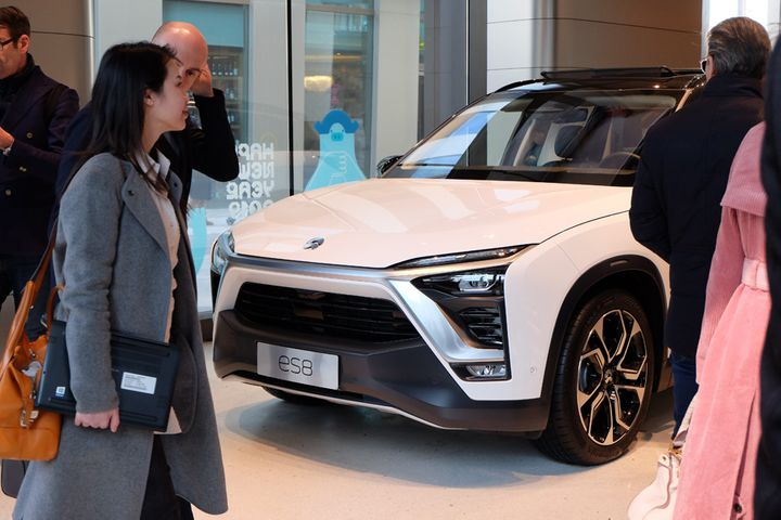 China's Nio Recalls Almost 5,000 of Its Flagship Electric Vehicles