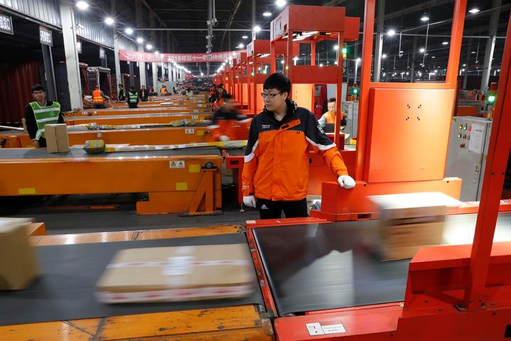 China's Online Retailers Generated 1.4 Billion Delivery Orders on Double 11