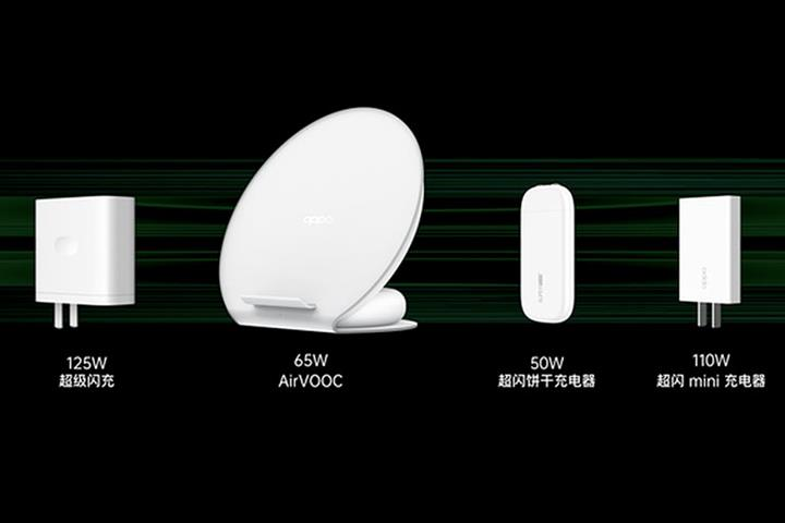 China's Oppo Launches 20-Minute Phone Charging Technology