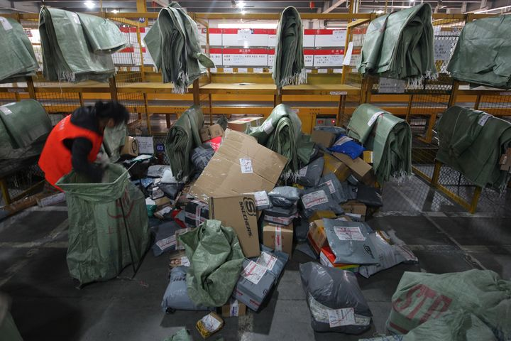 China's Parcel Delivery Sector Broke Trillion Barrier Last Year
