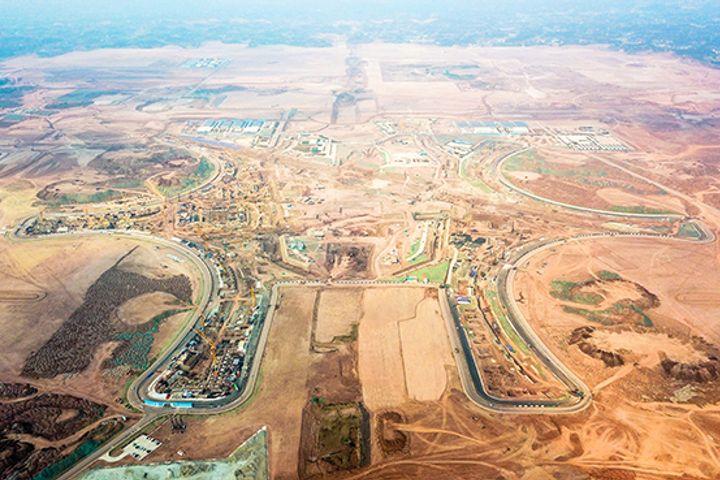 China Railway Construction Starts Work on Chengdu's New Airport Terminal