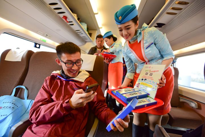 China Railway Rolls Out Online Meal Ordering Service on High-Speed Rail Lines