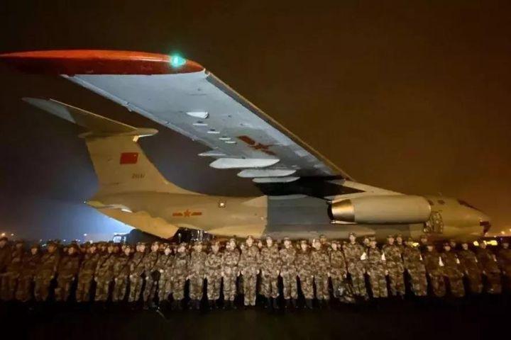 China Sends Military Medics to Wuhan