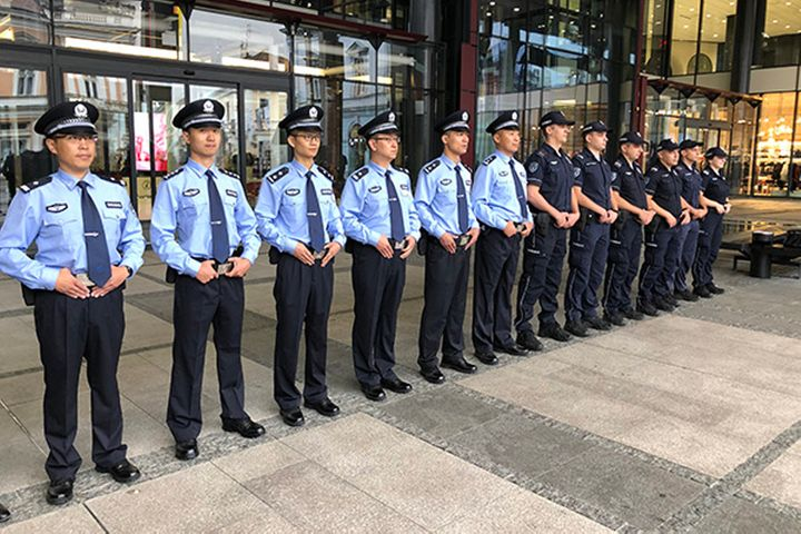 China, Serbia Begin Their First Joint Police Patrols in Belgrade
