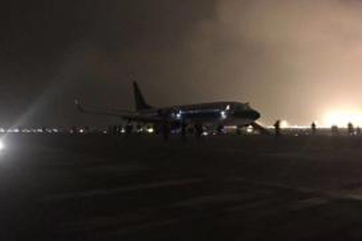 China Southern Airlines Flight Diverted to Changsha Following Fire Warning Light, One Passenger Injured in Evacuation