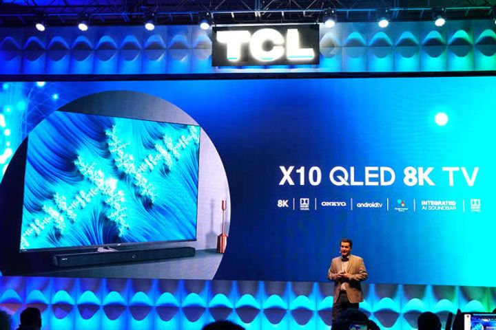 China's TCL Unveils New TV at CES, Targets Smart Home Centers