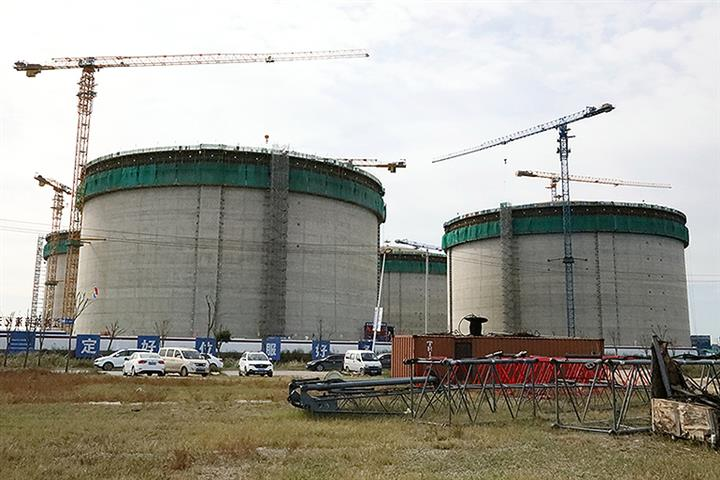 China to Start Building Ultra-Large Liquified Natural Gas Storage Tanks