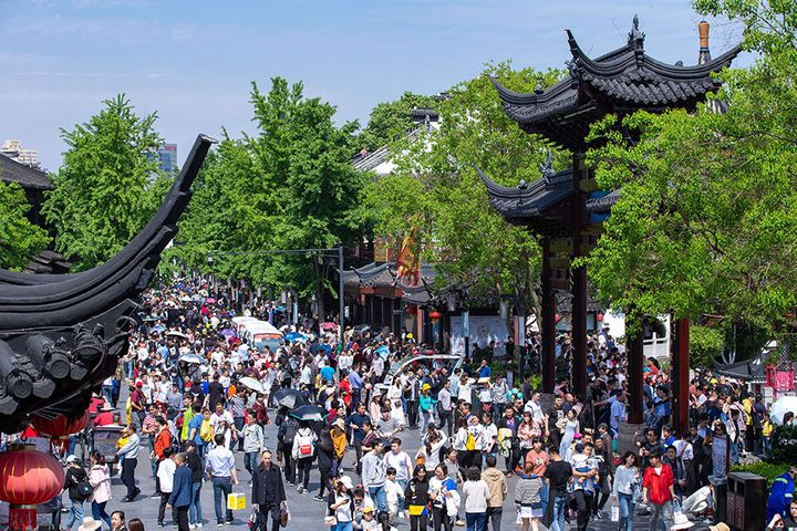 China's Tourism Income Surged 16% to USD17.5 Billion Over Labor Day Holiday