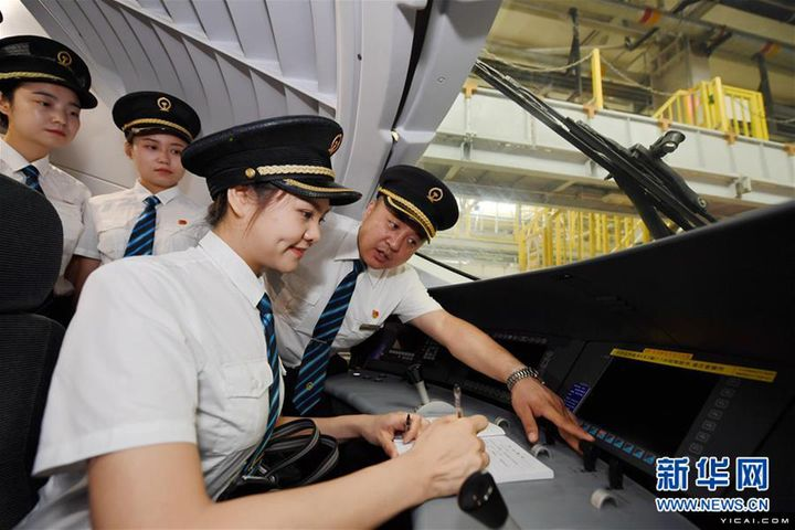China Trains First Women Drivers for High-Speed Rail Lines