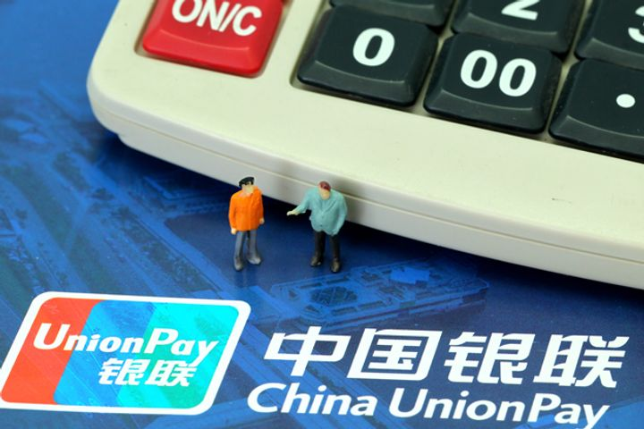 China UnionPay's Online Transactions Hit Record USD108 billion Over New Year