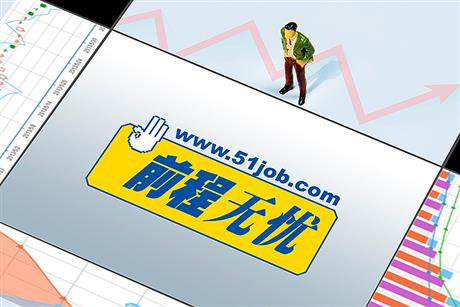 Chinese HR Firm 51job Soars in New York on DCP Capital's USD5.3 Bln Buyout Bid