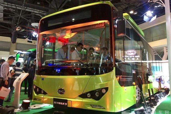 Chinese Automaker BYD Wins Egypt's First Electric Bus Order