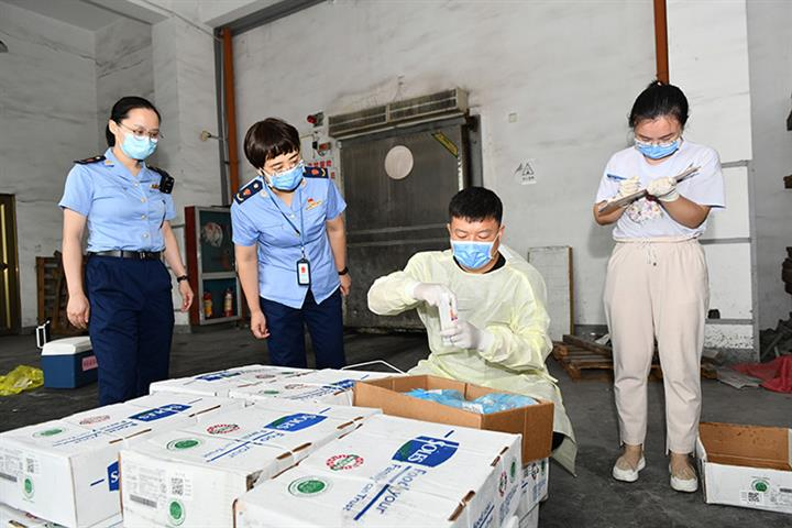 Chinese Cities Open Special Warehouses for Frozen Food Imports to Stop Virus Spread