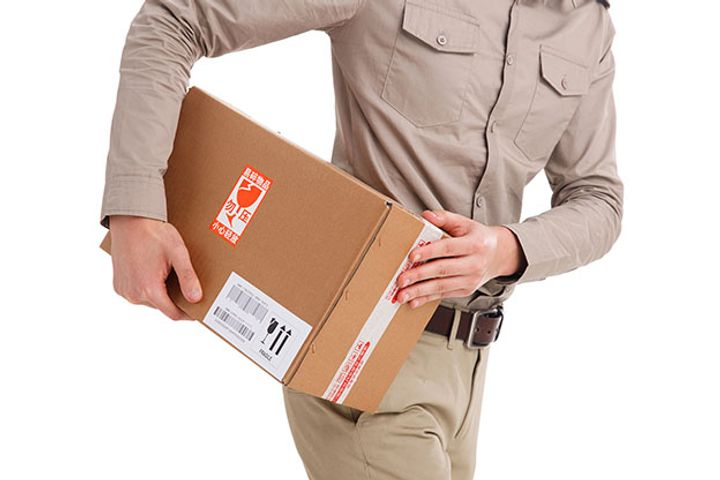 Chinese Courier Deliveries Abroad Nearly Double in First Half