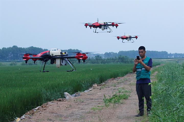Chinese Drone Maker XAG Bags USD182.2 Million in Funding, Led by Baidu, SoftBank Vision Fund