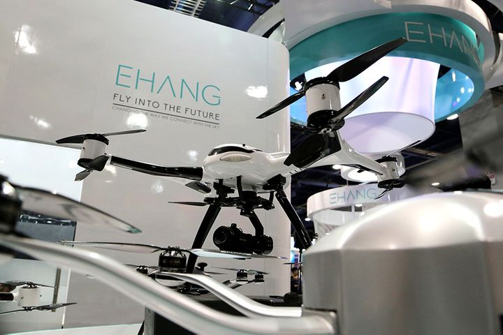 Chinese Drone Taxi Maker EHang Plans US IPO