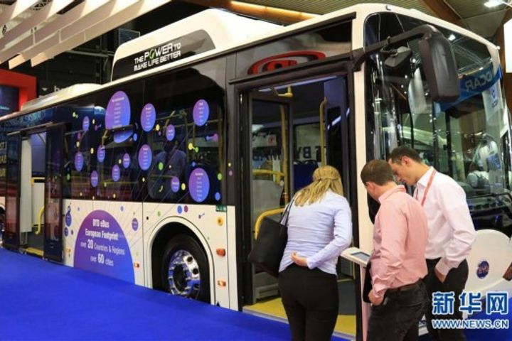Chinese Electric Bus Firms Bring Their High-End Models to Busworld International 2017 in Belgium