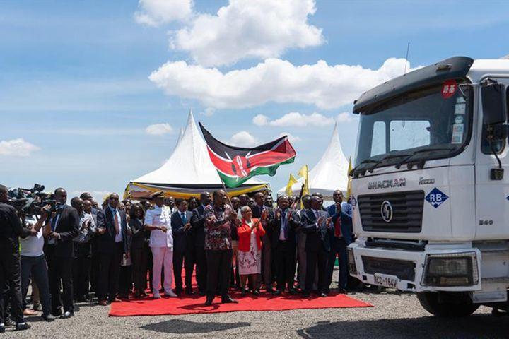 Chinese Firm Starts Work on USD600 Million Expressway in Kenya