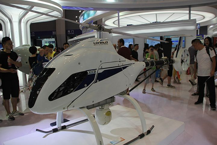 Chinese Firm's Unmanned Military Choppers Pass Air-to-Surface Missile Tests