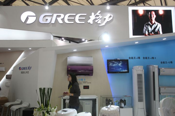 Chinese Home Appliance Firm Gree Electric Makes CCTV's Top Ten Listed Companies Lineup