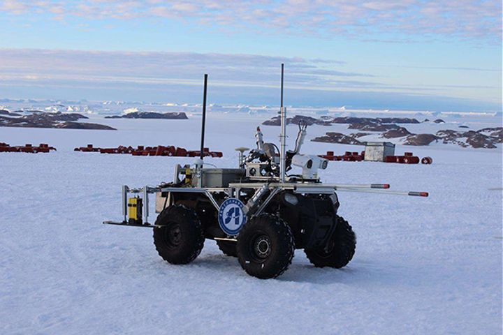 Chinese Ice-Drilling Robot Debuts in Polar Exploration