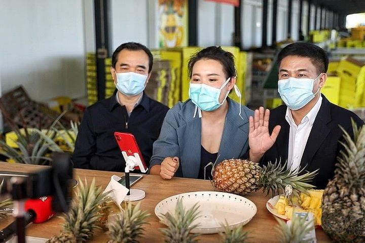 Chinese Officials Hawk Hainan's Veggies, Fruits Online as Epidemic Causes Stock Glut
