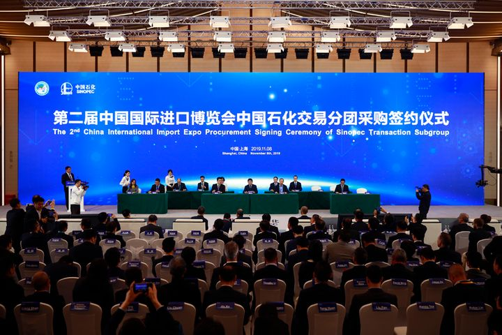 Chinese Oil Giant Sinopec Inks Deals With 38 Overseas Suppliers at CIIE
