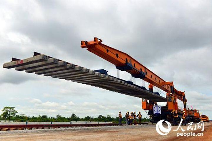 Chinese Railway Behemoth Started Laying Tracks for Nigeria's Economy Boost