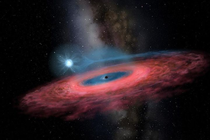 Chinese Scientists Spot Impossibly Large Black Hole in Space