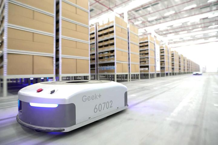 Chinese Warehouse Robot Firm Bags USD60 Million in Series B Financing, Warburg Pincus Leads