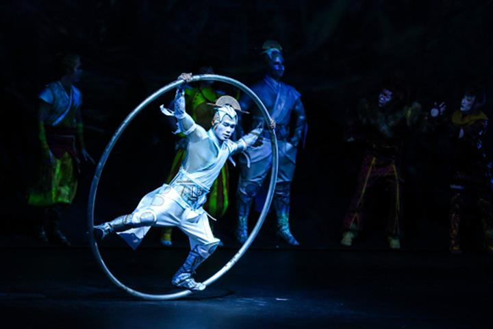 Cirque du Soleil Performs Its First Dress Rehearsal Since Covid-19 in China