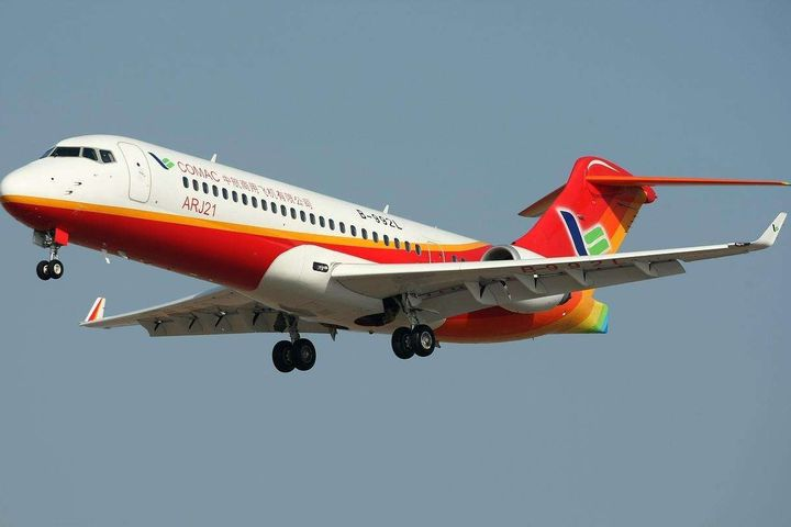 COMAC's ARJ21 Order Log Rises to 433 After Winning a New Order for 20 Planes