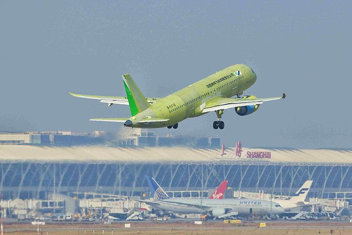 COMAC's Sixth C919 Passenger Aircraft Finishes First Test Flight