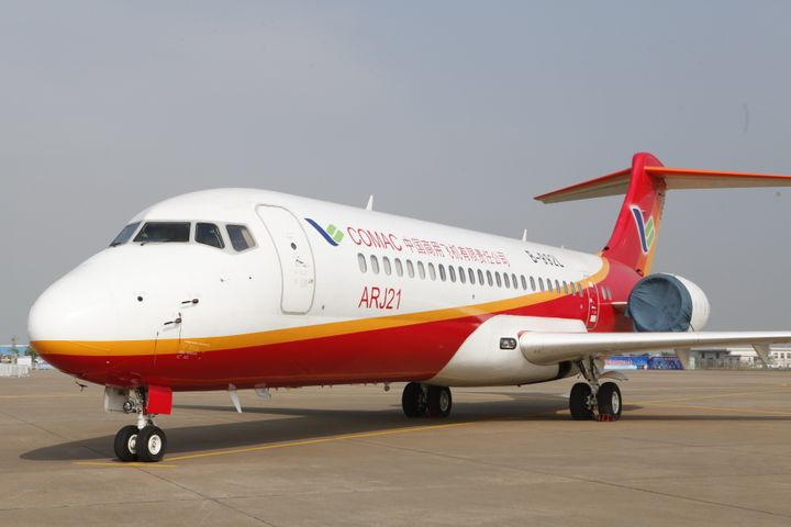 COMAC to Sell 105 ARJ21-700s to Air China, China Southern, China Eastern
