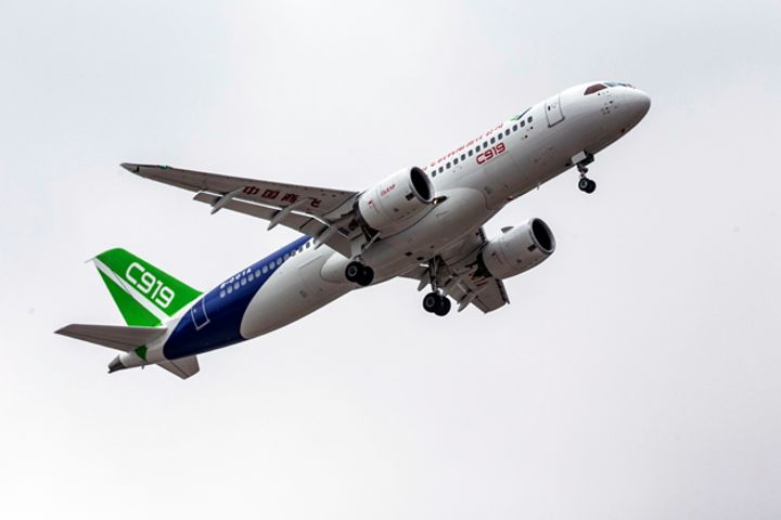 Comac Wins Orders for 130 C919 Airliners at Aviation Expo China