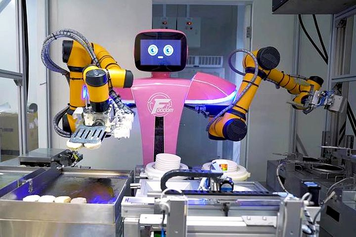 Country Garden Opens China's First Fully Robotic Restaurant in Guangzhou