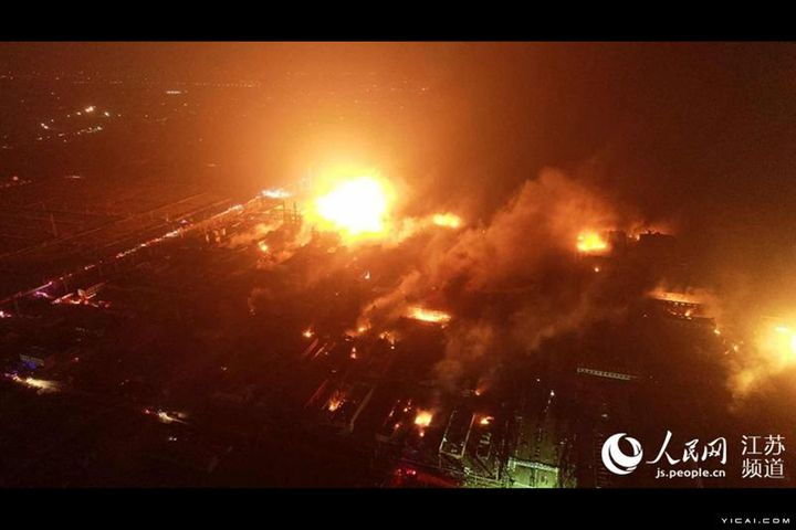 Death Toll at Eastern Chinese Chemical Plant Blast Rises to 47