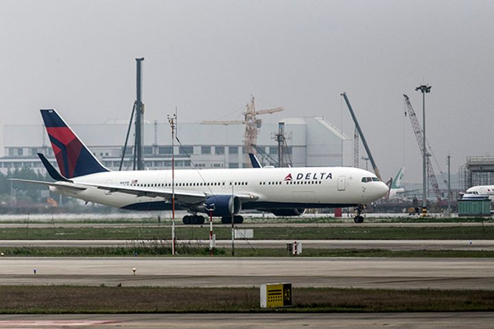 Delta Air Lines Launches Shanghai-Atlanta Flight Route