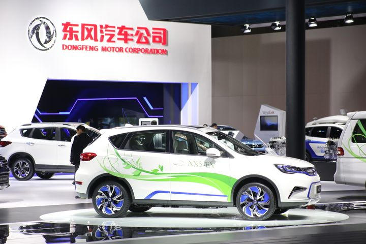 Dongfeng Motor Looks to NEVs to Boost Sales by 2022