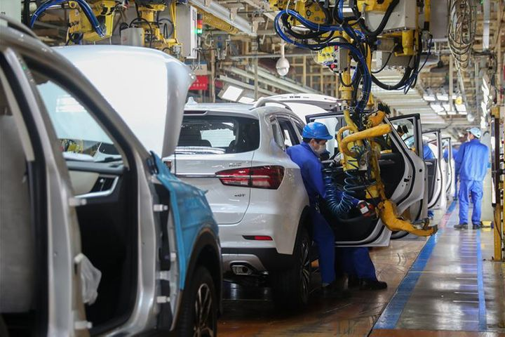 Dongfeng Motor Units Are First to Get Back to Making Cars in Virus-Hit Wuhan