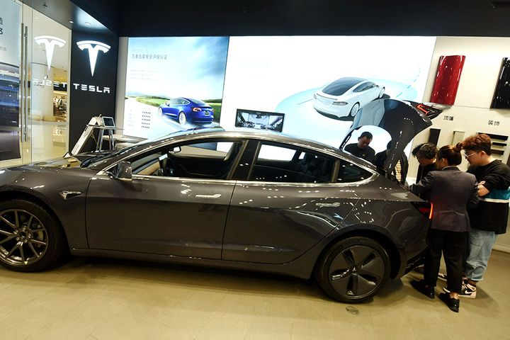 China-Made Tesla Cars to Get Government Grants