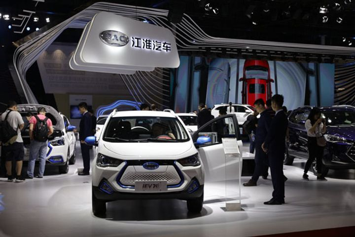 Electric Car Startup NIO, JAC Motors to Continue Collaboration on New Model ES6