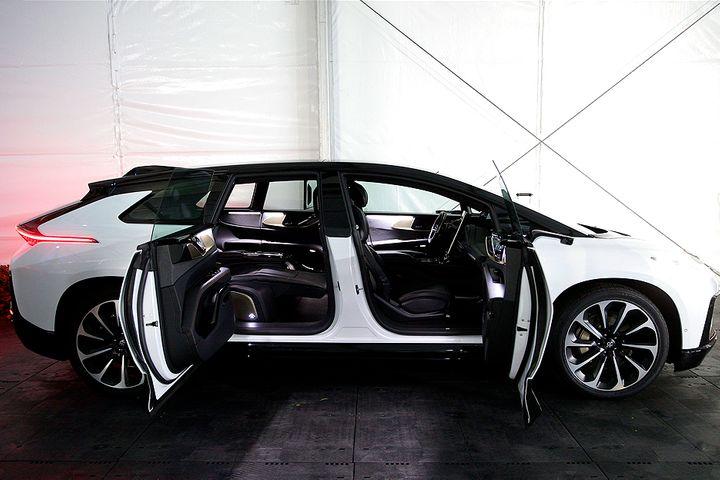 Faraday Future's FF91 Electric SUV Boasts 11 Internal Displays