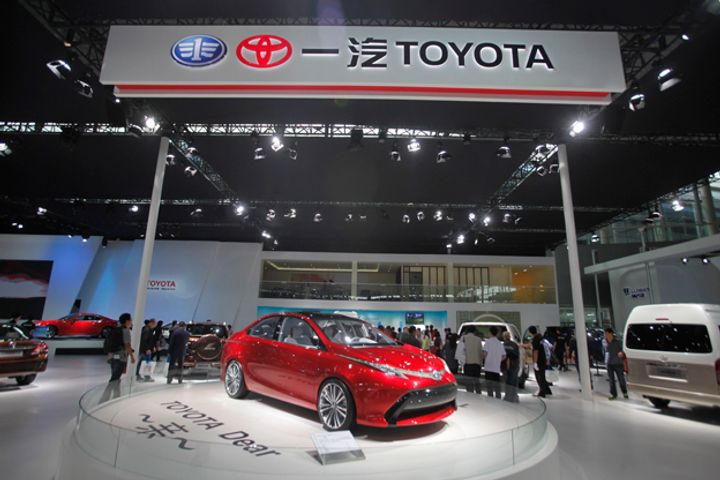 FAW Toyota Will Establish 1,000 Sales Centers in China by 2020, GM Says