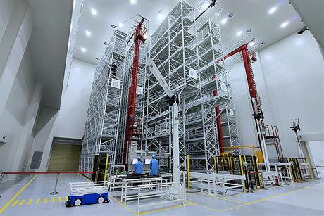 First Satellite Rolls Off Smart Mass Production Line in China's Wuhan