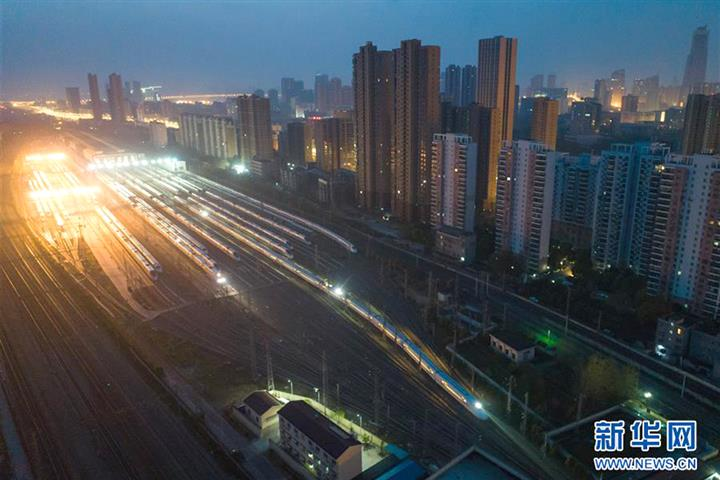 First Trains Leave Wuhan as Lockdown Ends