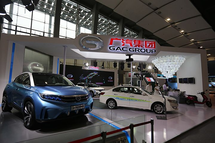 GAC Motor on Track to Sell 1.9 Million Cars This Year, General Manager Says