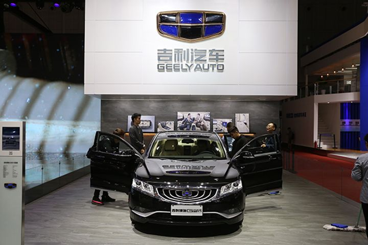 Geely Auto Targets Sales of 1.6 Million Cars This Year in 27% Annual Rise