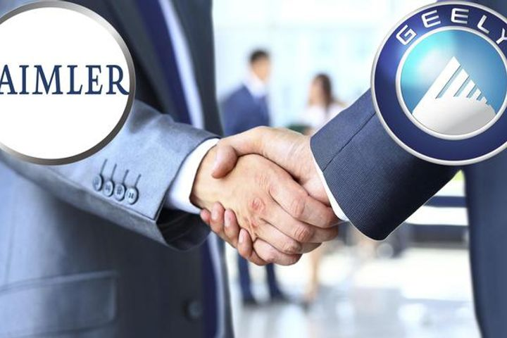 Geely, Daimler Mull Over Ride-Hailing JV in China